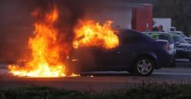 Λαμπάδιασε αυτοκίνητο μετά από τροχαίο στο Ηράκλειο