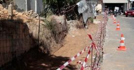 Κατασκευή πεζοδρομίων στην οδό Μανουσογιαννάκηδων των Χανίων