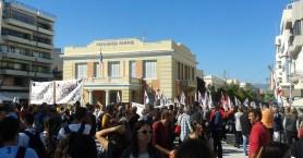 Απεργιακά συλλαλητήρια στις πόλεις της Κρήτης (φωτο)