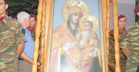 Στα Χανιά η εικόνα της Παναγίας Αγιοταφίτισσας - Ημερομηνία και ώρα άφιξης