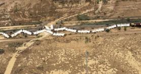 Αυστραλία: Εκτροχιάστηκε τρένο με 200.000 λίτρα θειικού οξέος