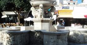 Ξανά νερό στην Κρήνη Μοροζίνι στο Ηράκλειο