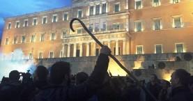 Οι μελισσοκόμοι των Χανίων στο συλλαλητήριο στην Αθήνα