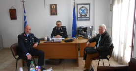 Συνάντηση Θραψανιώτη με τον νέο Γενικό Αστυνομικό Διευθυντή Κρήτης