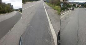 Επικίνδυνος ο δρόμος Ταυρωνίτη – Βουκολιές μετά τα…έργα