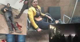 Τρόμος στις Βρυξέλλες από εκρήξεις με νεκρούς σε αεροδρόμιο & μετρό(βίντεο)