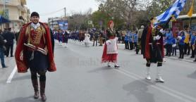 Με λαμπρότητα ο εορτασμός για την 25η Μαρτίου στα Χανιά (βίντεο + φωτο)