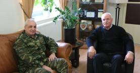 Στον Αντιπεριφερειάρχη Χανίων ο Διοικητής της 5ης Ταξιαρχίας
