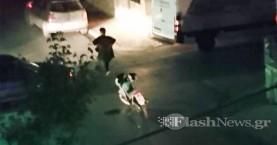 Τροχαίο ατύχημα στον δρόμο της...λαικής της Τετάρτης στα Χανιά