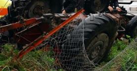 Νεκρός αγρότης στο Ηράκλειο - Τον καταπλάκωσε τρακτέρ