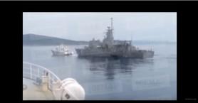 Βίντεο ντοκουμέντο από τις τουρκικές προκλήσεις στις Οινούσσες