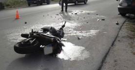 Σοβαρό τροχαίο με θύμα οδηγό μοτοσικλέτας στον ΒΟΑ της Κρήτης
