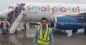 Η πρώτη πτήση τσάρτερ στο Αεροδρόμιο της Σητείας