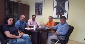 Συνάντηση προέδρου Επιμελητηρίου Λασιθίου με τον δήμαρχο Σητείας