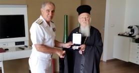 Συνάντηση Αρχηγού ΓΕΝ με τον Οικουμενικό Πατριάρχη στα Χανιά