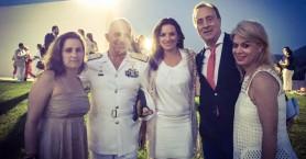 Όλγα Κεφαλογιάννη: Βουτιές σε παραλία των Σφακίων!