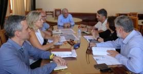 Επαφές για το σχέδιο ολοκληρωμένης αστικής & βιώσιμης Αστικής Ανάπτυξης