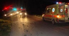 Τροχαίο στα Χανιά τα ξημερώματα με ένα σοβαρά τραυματία