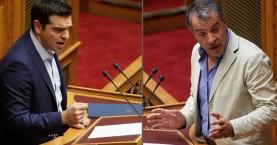 Σκληρή σύγκρουση Θεοδωράκη-Τσίπρα για τις offshore των υπουργών