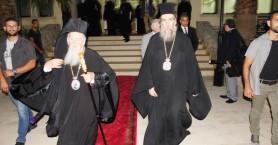 Θεία λειτουργία στους Αγ. Αποστόλους υπό τον Οικουμενικό Πατριάρχη