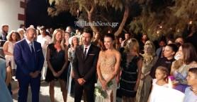 Ο γάμος του καλοκαιριού στα Χανιά - Όλες οι λεπτομέρειες (φωτο - βίντεο)