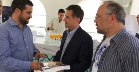 Kαλοσώρισμα στο Ρώσο κοσμοναύτη Γιούρι Μαλέντσενκο από τη Περιφέρεια Κρήτης