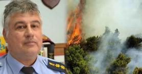 Το συγκινητικό ευχαριστώ του διοικητή που κινδύνευσε στη φωτιά στο Σελάκανο