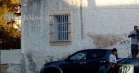 Γιατί ήταν κλειστός σήμερα ο δρόμος πάνω από τα δικαστήρια στα Χανιά;