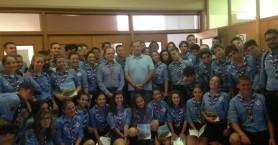 Ομάδα προσκόπων,απο την αδελφοποιημένη Ιταλικη πόλη, επισκέφθηκε το Ρέθυμνο