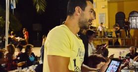 Ο Σάκης Τανιμανίδης σε πανηγύρι στα Χανιά (φωτο)