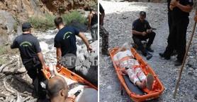 Η στιγμή της διάσωσης γυναίκας στην Αράδαινα (βίντεο - φωτο)