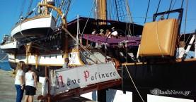 Στη Σούδα το εντυπωσιακό ιστιοφόρο του Ιταλικού Π.Ν. «Nave Palinuro» (φωτο)