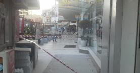 Αναστάτωση από έκρηξη σε υποσταθμό της ΔΕΗ στο κέντρο του Ηρακλείου (φωτο)