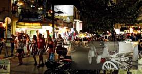 Τραυματισμός πεζής από άμαξα στην οδό Χάληδων των Χανίων