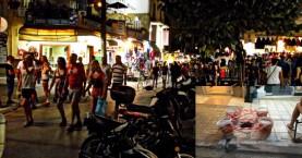 Τα χάλια της - τουριστικής - οδού Χάληδων των Χανίων (φωτο)