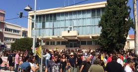 Μεγάλη συμμετοχή στο αντιφασιστικό συλλαλητήριο στο Ρέθυμνο