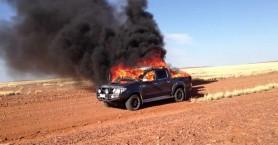 Του έκλεψαν το αυτοκίνητο και το έκαψαν σε χωριό του Ηρακλείου