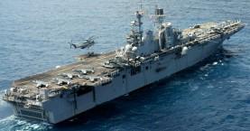 Το USS WASP απο τις επιθέσεις κατα του ISIS στην βάση της Σούδας