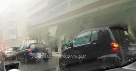 Απίστευτο μποτιλιάρισμα στους δρόμους στα Χανιά (φωτο)