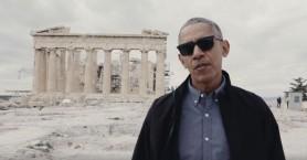 Ύμνος στη Δημοκρατία από τον Μπαράκ Ομπάμα στην Ακρόπολη (βίντεο)