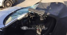 Ένας τραυματίας σε σύγκρουση αυτοκινήτου με άλογο στην Αγιά Χανίων