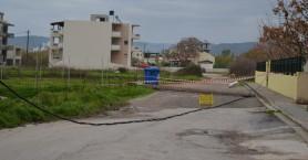 Στύλος της ΔΕΗ έπεσε δίπλα σε νηπιαγωγείο στην Κίσσαμο