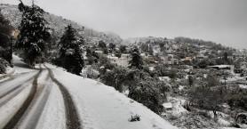 Σε ύφεση ο χιονιάς - Η κατάσταση στους δρόμους και στην Κρήτη