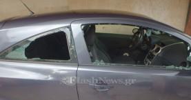Μπαράζ διαρρήξεων αυτοκινήτων στα Χανιά (φωτο)