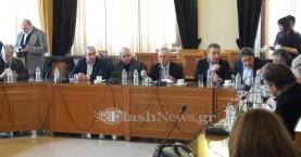 Στην Κρήτη ο Γ. Δραγασάκης - Τι είπε για δομές υγείας, χρέη και προσφυγικό