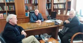 Συνάντηση Γιάννη Δραγασάκη με το Δήμαρχο Ιεράπετρας