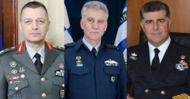 Αλλαγή σκυτάλης στα Επιτελεία - Αποστρατεύεται ο Χανιώτης ΓΕΝ Γ.Γιακουμάκης