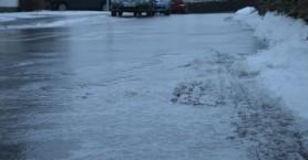Ολισθηροί δρόμοι στις ορεινές περιοχές  Δήμου Σφακίων λόγω παγετού