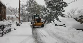 Σε ετοιμότητα για τον χιονιά η Π.Ε. Χανίων – Τι θα γίνει με τα σχολεία