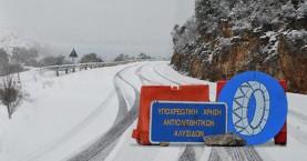 Προβλήματα στην κυκλοφορία από το χιόνι στην Αττική